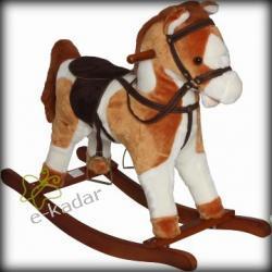 Koń, konik na biegunach: macha ogonem, rży - CoTo Baby