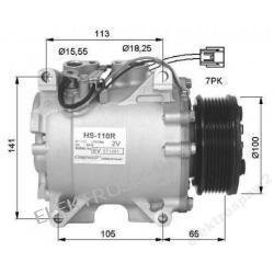 Nowa Sprężarka klimatyzacji HONDA CRV HS110R
