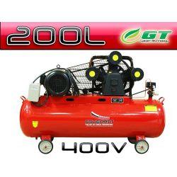 KOMPRESOR OLEJOWY SPRĘŻARKA 200L 3T 400V POWERMAT