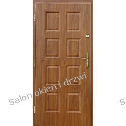 Drzwi zewnętrzne - 8 kasetonów