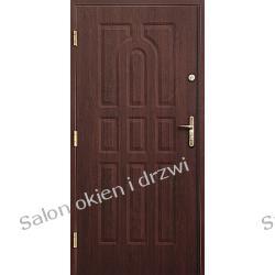 Drzwi zewnętrzne - 9 kasetonów