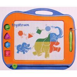 Smily Play Znikopis Kolorowy Tablica Magnetyczna 4 pieczątki