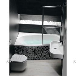 Polysan Wanna akrylowa asymetryczna ASTRA WL 165x90 cm (lewa)