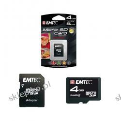 EMTEC MICRO SECURE DIGITAL 4GB Z ADAPTEREM