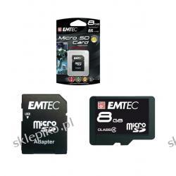 EMTEC MICRO SECURE DIGITAL 8GB Z ADAPTEREM