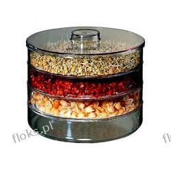 Kiełki nasion fasola mung, lucerna, rzodkiewka + kiełkownik Vilmorin