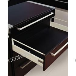 Prowadnice GTV PRESTIGE BOX 500mm z relingami