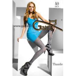 Rajstopy GATTA Nowa Kolekcja BŁYSK*Thandie 04*4-L