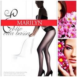 Rajstopy Marilyn Erotic Biodrówki z Koronką*4-L