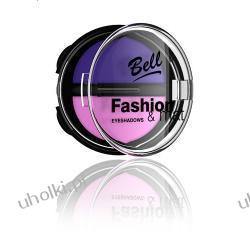 BELL Fashion & mat Eyeshadows Matowe jedwabiste cienie do powiek, 8g