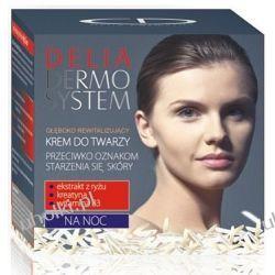 Delia Dermo System, Przeciwzmarszczkowy KREM na NOC głęboko rewitalizujący, 50 ml