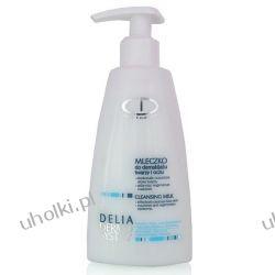 Delia Dermo System, MLECZKO do demakijażu twarzy i oczu, 210 ml