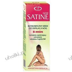 Delia Satine NEW Line Błyskawiczny krem do depilacji nóg-3 min, 100 ml