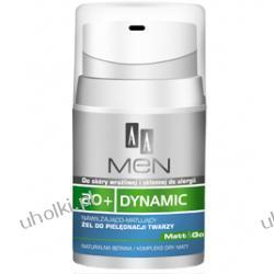 AA Men 20+ Dynamic. Nawilżająco - matujący żel do pielęgnacji twarzy 20+  50 ml