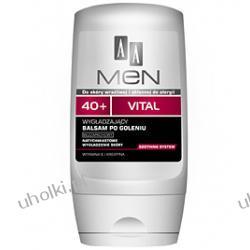 AA Men 40+ Vital. Wygładzający balsam po goleniu 40+ Bezzapachowy Nie zawiera alkoholu 100 ml