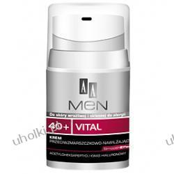AA Men 40+ Vital. Krem przeciwzmarszczkowo - nawilżający 40+  50 ml