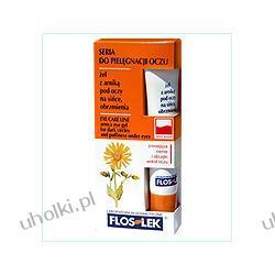 FLOS-LEK Pielęgnacja oczu, Żel pod oczy z arniką na sińce i obrzmienia, 15 ml
