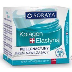 SORAYA Kolagen & Elastyna, Pielęgnacyjny krem nawilżający, cera dojrzała, 50 ml
