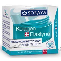 SORAYA Kolagen & Elastyna, Przeciwzmarszczkowy krem tłusty, cera sucha i bardzo sucha50 ml