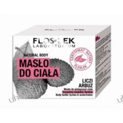 FLOS-LEK Natural Body, Masło do ciała Liczi&Arbuz, skóra sucha, odwodniona 240 ml