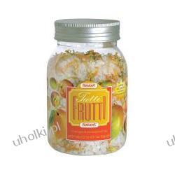 FARMONA Tutti Frutti, Aromatyczna sól do kąpieli z płatkami kwiatów o  zapachu mango i brzoskwini, 600 g