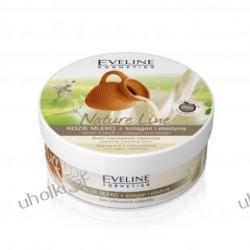 EVELINE Nature Line, Kozie mleko+kolagen+elastyna, Krem intensywnie odżywczy do ciała, 210 ml