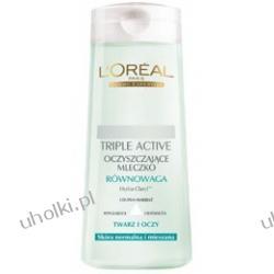 L`OREAL Triple Active, Oczyszczające Mleczko Równowaga do Skóry Normalnej i Mieszanej 200 ml