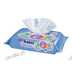 NIVEA BABY, Chusteczki pielęgnacyjne Toddies do buzi i rączek dla dzieci i niemowląt, 63 szt