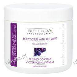 BIELENDA Ideal Skin, Peeling do Ciała Czerwonym Winem, każda skóra, 600g