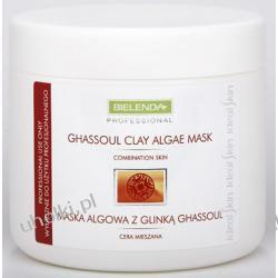BIELENDA Ideal Skin, Maska Algowa z Glinką Ghassoul, cera mieszana, trądzikowa, trądzik różowaty, 190g