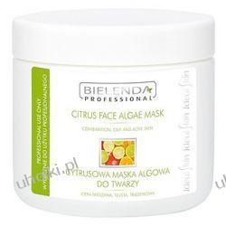 BIELENDA Ideal Skin, Cytrusowa Maska Algowa, cera tłusta, mieszana, trądzikowa, 190g