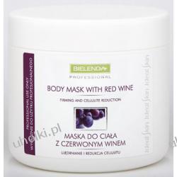 BIELENDA Ideal Skin, Maska do Ciała z Czerwonym Winem, skóra zmęczona, zestresowana, 600g