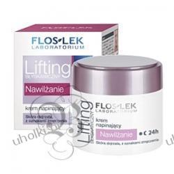 FLOS-LEK Błyskawiczny Lifting, Krem napinający Nawilżanie 24h, skóra dojrzała 50 ml