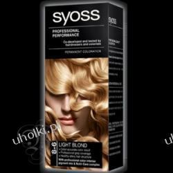 SYOSS Professional Performance, Krem trwale koloryzujący 8-6 Jasny blond 1 op.