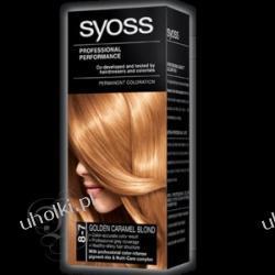 SYOSS Professional Performance, Krem trwale koloryzujący 8-7 Miodowy blond 1 op.