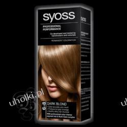 SYOSS Professional Performance, Krem trwale koloryzujący 6-8 Ciemny blond 1 op.