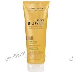 JOHN FRIEDA Sheer Blonde, Highlight Activating Shampoo, Szampon rozświetlający z miodem do włosów ciemny blond 250 ml