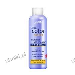 JOANNA Ultra Color System, Płukanka srebrna do włosów siwych, blond i rozjaśnianych 13 ml