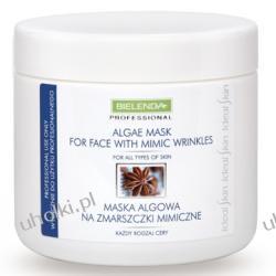 BIELENDA Ideal Skin, Maska algowa na zmarszczki mimiczne,190g