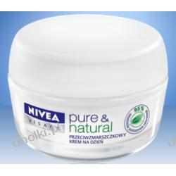 NIVEA, PURE & NATURAL Krem przeciwzmarszczkowy z olejkiem arganowym na dzień, 50 ml