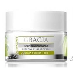 GRACJA, Oliwkowy krem regenerujący do twarzy, 50 ml