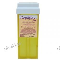 DEPIFLAX, Naturalny wosk do depilacji, każda skóra, wkład z rolką, 110g