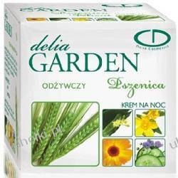DELIA Garden, Pszenica, Intensywny krem odżywczy i przeciwzmarszczkowy na noc, cera normalna, sucha, odwodniona, 50 ml