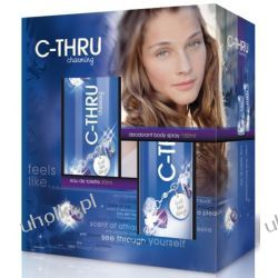 C-THRU Charming Zestaw, Woda toaletowa damska EDT + dezodorant spray