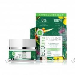 EVELINE ECOline, Ultranawilżający krem na dzień z filtrami UVA/UVB do cery wrażliwej, alergicznej 30+, 50ml