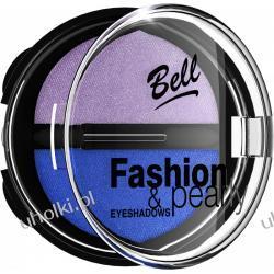 BELL Fashion & Pearly Eyeshadows, Perłowe cienie do powiek z jedwabiem, 8g