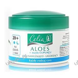 CELIA Aloes, Jedwabisty krem przeciwzmarszczkowy na dzień i na noc do cery wrażliwej, 30+, 50 ml