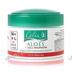 CELIA Aloes, Odbudowujący krem przeciwzmarszczkowy na dzień i na noc do cery wrażliwej, 50+, 50 ml