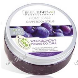 BIELENDA Home Care ECO 4YOU, Winogronowy peeling do ciała, odnowa skóry i redukcja cellulitu, 200 ml