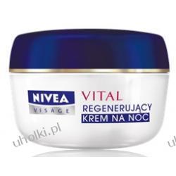 NIVEA VITAL, Regenerujący krem na noc do cery dojrzałej z ekstraktem z pereł, 55+  50 ml